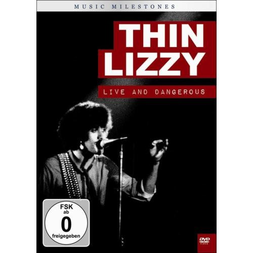Music Milestones: Thin Lizzy Live and Dangerous [DVD]