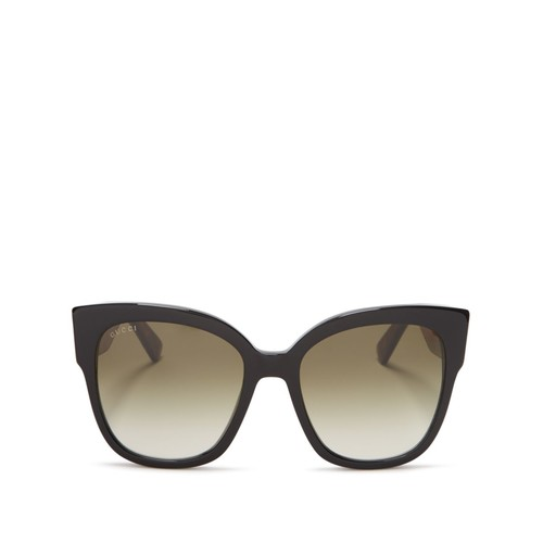 GUCCI Cat Eye Sunglasses, 55Mm