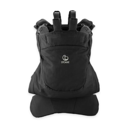 Stokke MyCarrier Front Baby Carrier in Black