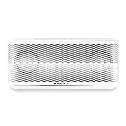 Monster Clarity Hd Micro Bluetooth Speaker White [Wireless]
