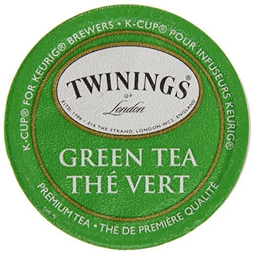 Twinings Green Tea, Keurig K-Cups, 24 Count [Green Tea, 24 Count]