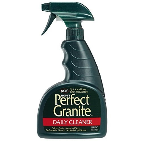 HOPE'S Perfect Granite & Marble Cleaner, 22-Ounce, Safe, Streak-Free, Ammonia-free Granite Cleaning Spray: Home & Kitchen [1]