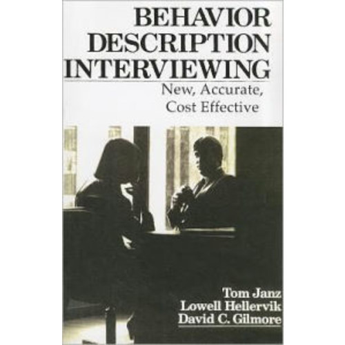 Behavior Description Interviewing / Edition 1