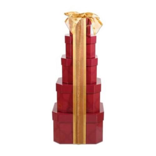 Alder Creek Holiday Burgundy Tower Gift Set