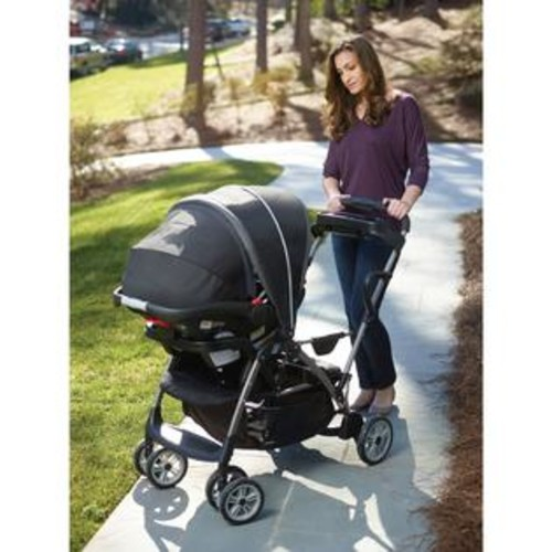 Graco RoomFor2 Gotham Stand and Ride Click Connect Stroller