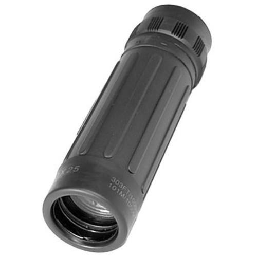 Barska 10x25 Lucid-View Pocket Weather Resistant Monocular, Black AA10311