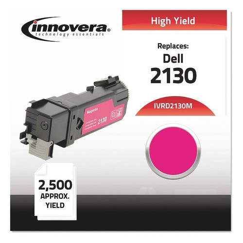 Dell Toner Cartridge, No. 2130, Magenta