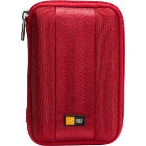 Case Logic Portable EVA Hard Drive Case QHDC-101 - Red [Red]