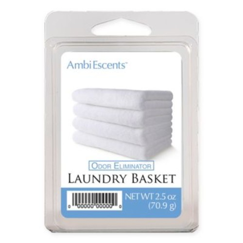 AmbiEscents 6-Pack Laundry Basket Fragranced Wax Melts