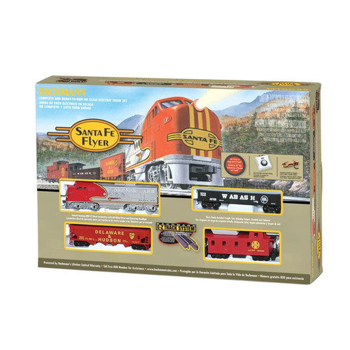 Santa Fe HO Scale Electric Train Set