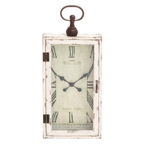 Wooden Farmhouse Decorative Wall Clock 28 X 12 - Olivia & May