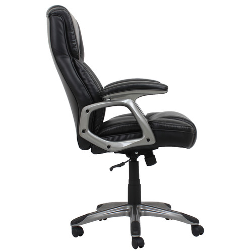 Barcalounger Michael Bonded Leather Executive Chair - Black