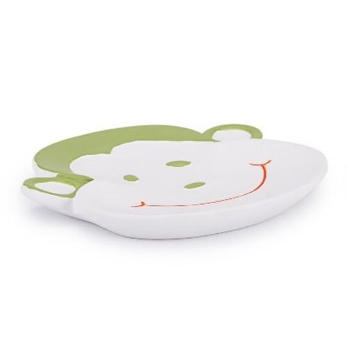 Jungle Soap Dish White - Kassatex
