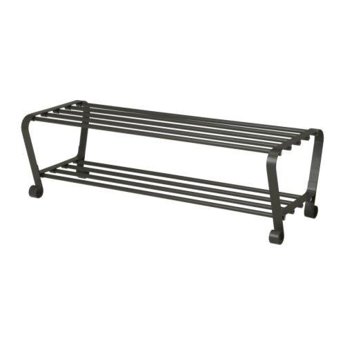 PORTIS Shoe rack, black