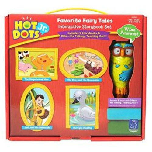 Educational Insights Hot Dots Jr. Favorite Fairy Tales Interactive Sets with Ollie Pen