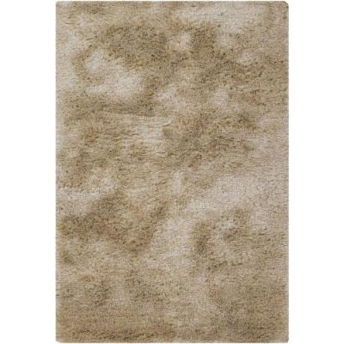 Chandra Naya Tan/Beige 5 ft. x 7 ft. 6 in. Indoor Area Rug