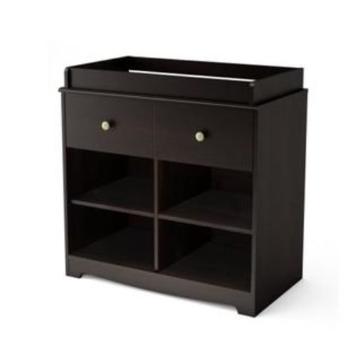 South Shore Little Teddy's Changing Table, Espresso