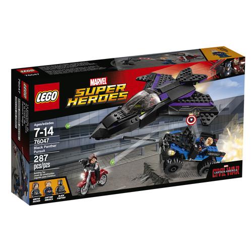 LEGO Marvel Super Heroes Black Panther Pursuit #76047
