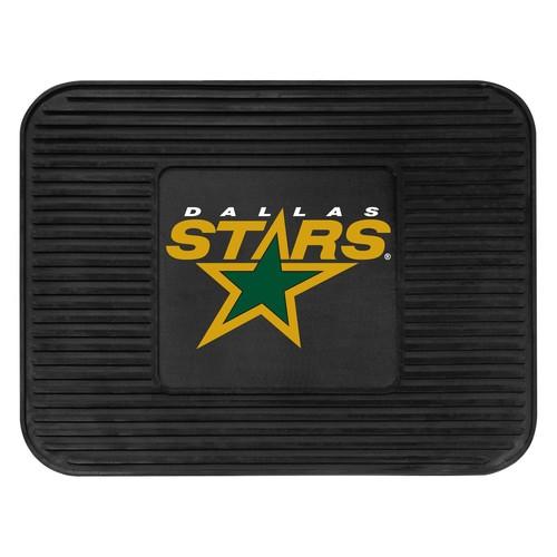 Fanmats 10767 NHL Dallas Stars Rear Second Row Vinyl Heavy Duty Utility Mat [Black, Rear]