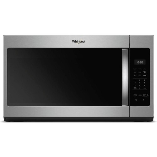 Whirlpool 30 in. W 1.7 cu. ft. Over the Range Microwave in Fingerprint Resistant Stainless Steel with Electronic Touch Controls