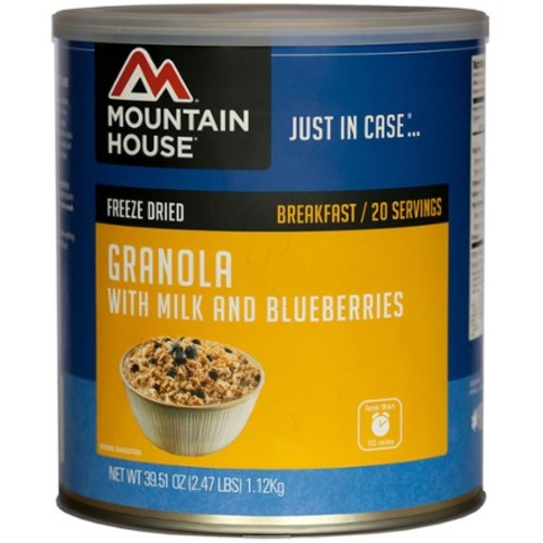 Granola with Milk and Blueberries - 40 oz. Can