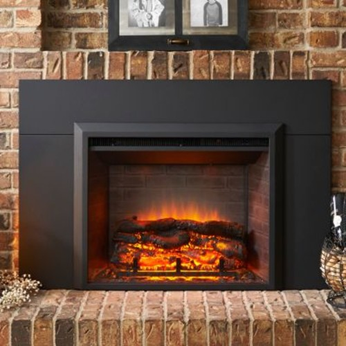 The Outdoor GreatRoom Company Wall Mount Electric Fireplace Insert