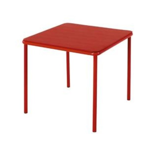 Cosco Products Kid's Vinyl Top Table, Red