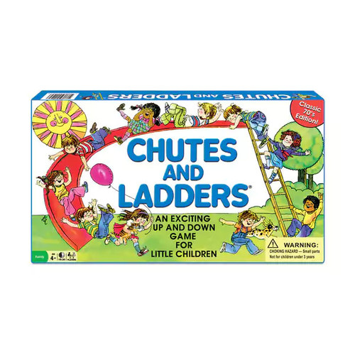 Classic Chutes and Ladders - Classic Chutes and Ladders