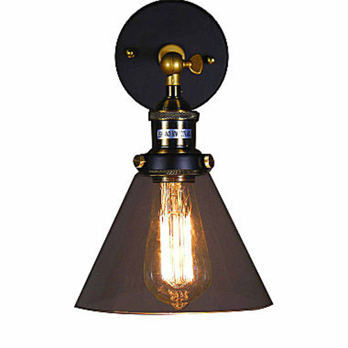 Warehouse Of Tiffany Michonne Glass Antique Edison Light