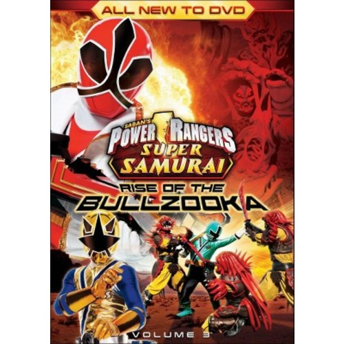 Power Rangers Super Samurai, Vol. 3: Rise of the Bullzooka (dvd_video)