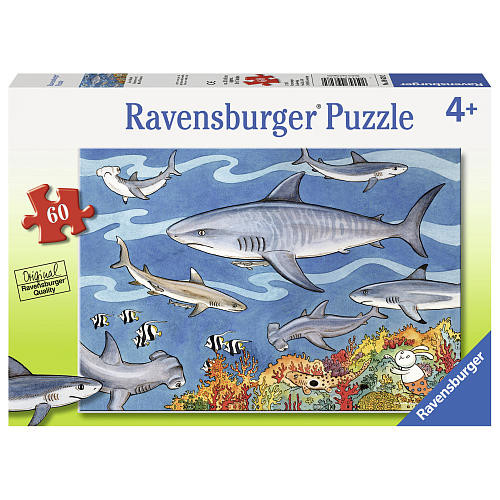 Ravensburger Sea of Sharks Jigsaw Puzzle - 60-Piece