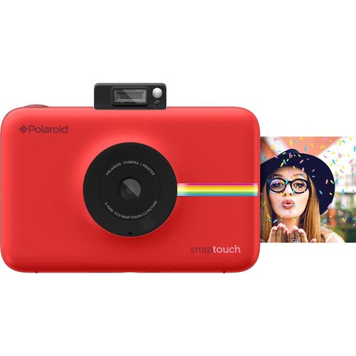 Polaroid Snap Touch (Red) Digital instant camera with LCD touchscreen