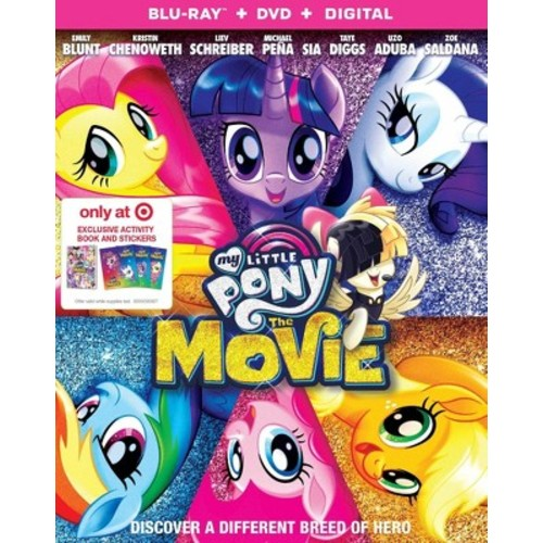 My Little Pony: The Movie Target Exclusive (Blu-ray + DVD + Digital)