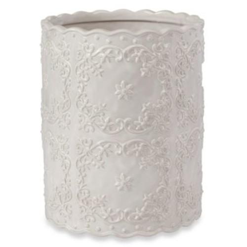 Creative Bath Ruffles Wastebasket