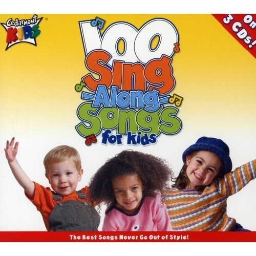 100 Singalong Songs For Kids Box set