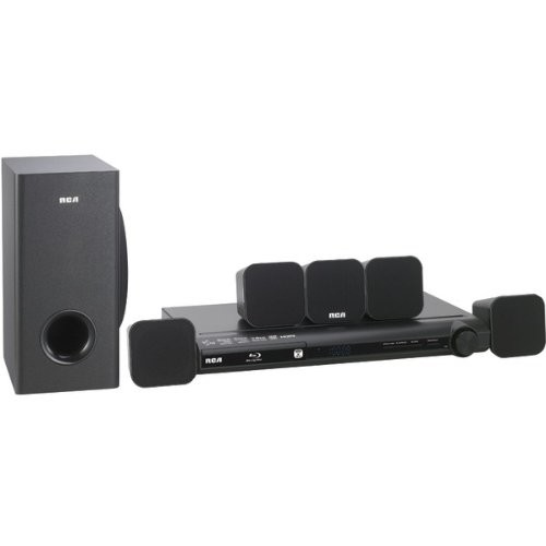 RCA 5.1 Home Theater System - 300 W RMS - Blu-ray Disc Player RTB1016WE