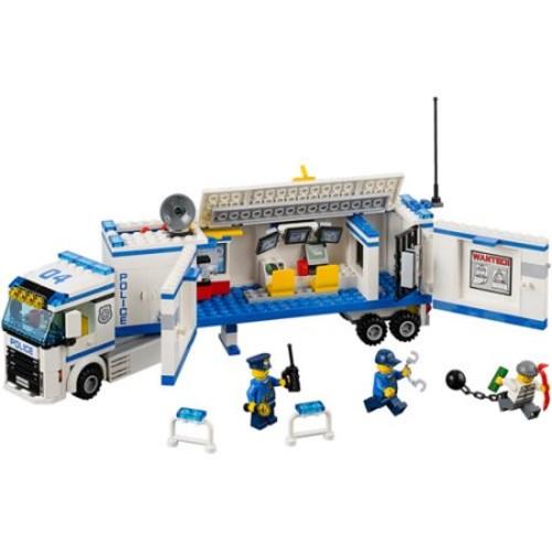 LEGO City Police Mobile Police Unit Building Set