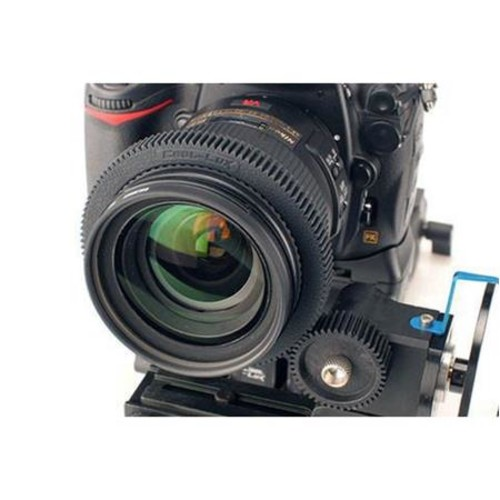 Cool-Lux LuxGear LG6667 Follow Focus Gear Ring for 66 to 67.9mm Lens