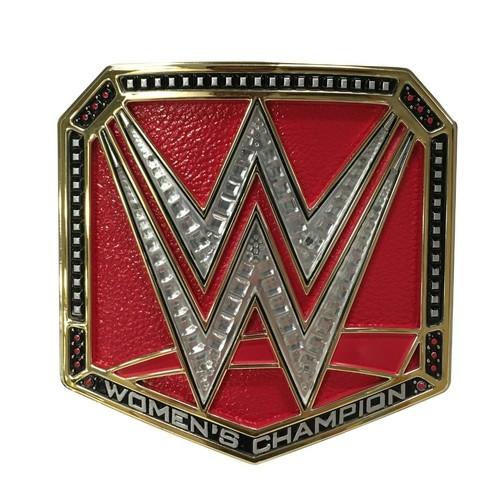 WWE Women's Championship Belt Buckles