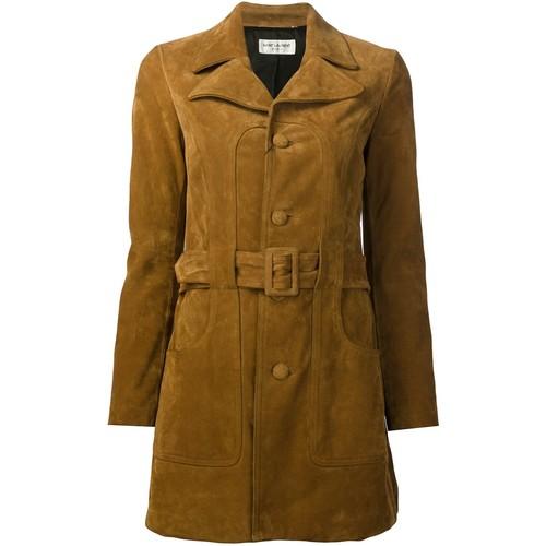 SAINT LAURENT 70'S Short Belted Coat