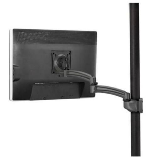 Chief Kontour Pole Mount Articulating Arm, Single Monitor; Black