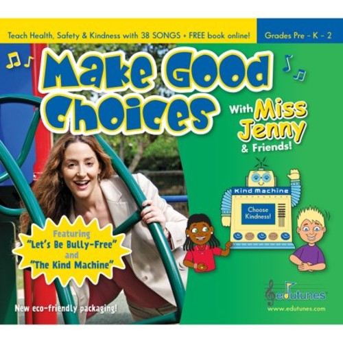MAKE GOOD CHOICES WITH MISS JENNY & FRIENDS CD