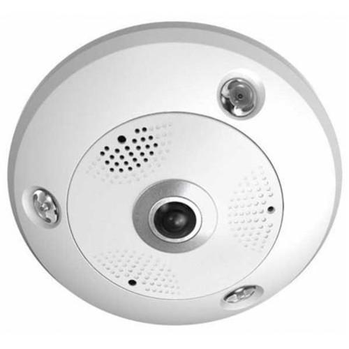 Securitytronix IP-NCA06-FE Outdoor 6MP IP Fisheye Network Camera with IR