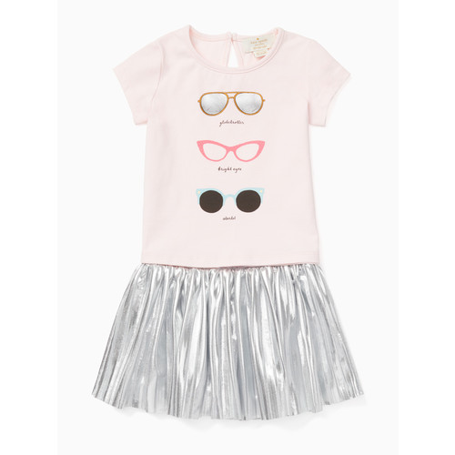 babies' sunglasses skirt set