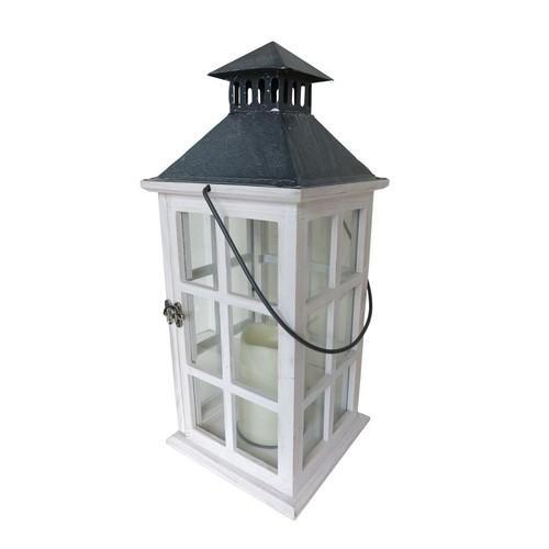 Smart Design Camden 16 in. LED Candle Lantern