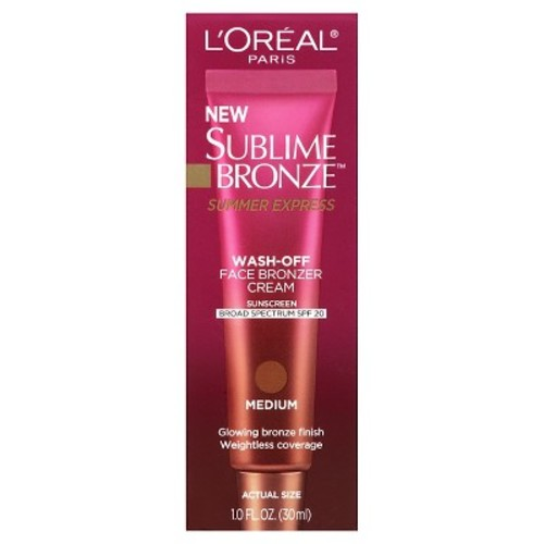 Sublime Bronze Summer Express Wash-Off Face Bronzer Cream SPF 20