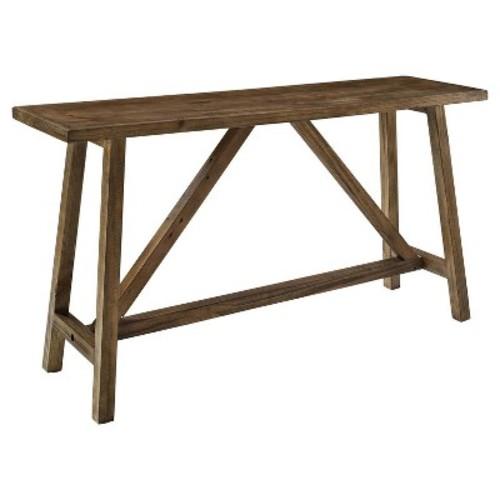 Altra Bennington Console Table, Rustic