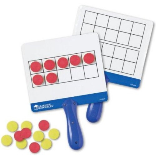 Learning Resources Magnetic Ten Frame Answer Boards Multi-Colored