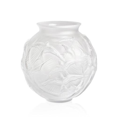 Hirondelles Medium Vase, Clear