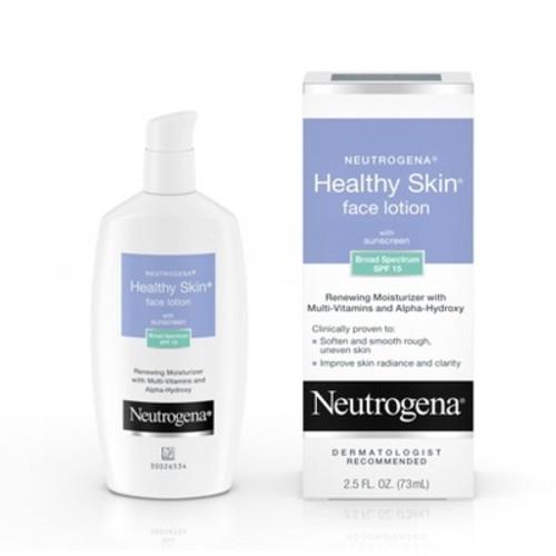 Neutrogena Healthy Skin Day Lotion Face Moisturizer , 2.5fl oz ,SPF 15